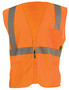 OccuNomix 2X Hi-Viz Orange Mesh/Polyester Vest