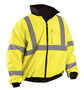 OccuNomix Medium Hi-Viz Yellow 100% 300D Polyester Bomber Jacket