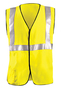 OccuNomix Medium Hi-Viz Yellow Westex®DH Modacrylic/Aramid Flame Resistant Vest