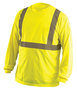 OccuNomix 3X Hi-Viz Yellow 3.8 Ounce Wicking Birdseye Polyester T-Shirt