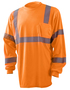 OccuNomix 3X Hi-Viz Orange 3.8 Ounce Wicking Birdseye Polyester T-Shirt