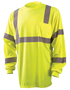 OccuNomix X-Large Hi-Viz Yellow 3.8 Ounce Wicking Birdseye Polyester T-Shirt