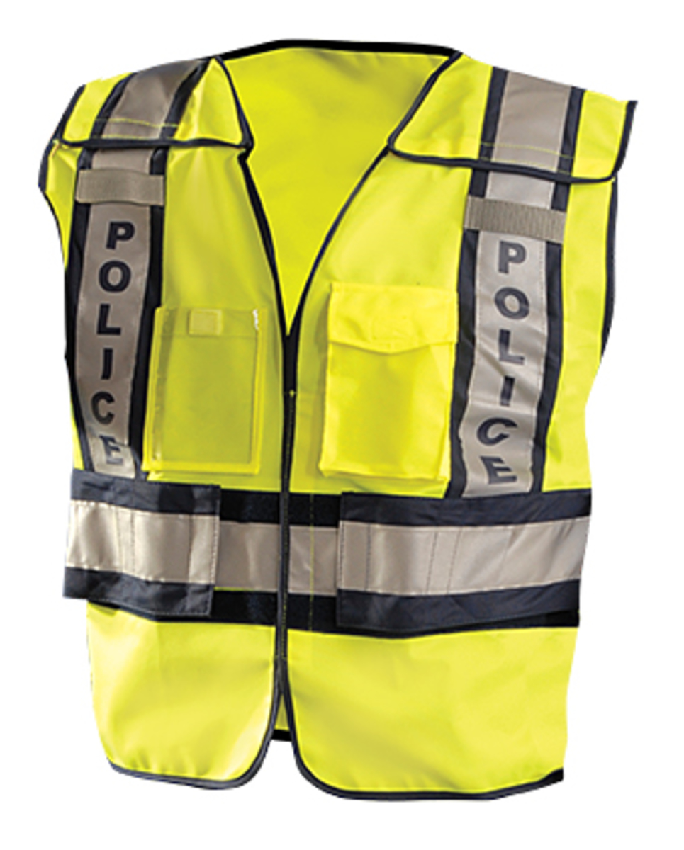 b93efcabe654 OccuNomix Medium - Large Hi-Viz Yellow 100% ANSI Polyester Mesh Public  Safety