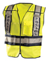 OccuNomix Medium - Large Hi-Viz Yellow 100% ANSI Polyester/Mesh Public Safety Vest