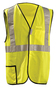 OccuNomix 2X Hi-Viz Yellow 100% ANSI Polyester/Mesh Break-Away Vest