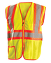OccuNomix Medium Hi-Viz Yellow 100% ANSI Polyester/Mesh Vest