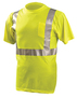 OccuNomix Medium Hi-Viz Yellow 100% ANSI Polyester T-Shirt