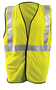 OccuNomix Medium Hi-Viz Yellow 100% ANSI 107 Flame Resistant Mesh/Modacrylic/Aramid Vest