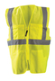 OccuNomix 4X - 5X Hi-Viz Yellow 100% ANSI Polyester/Mesh Surveyor Vest