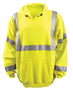 OccuNomix Medium Hi-Viz Yellow 1 Modacrylic/Polyester/Cotton Sweatshirt