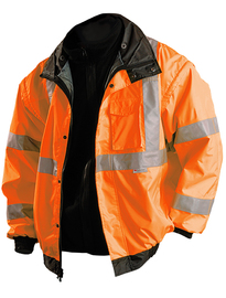 OccuNomix Medium Hi-Viz Orange Polyester Jacket