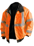 OccuNomix 2X Hi-Viz Orange Polyester Jacket