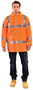 OccuNomix Medium Hi-Viz Orange 300D 100% Polyester 5-in-1 Parka