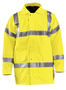 OccuNomix Medium Hi-Viz Yellow Polyester 5-in-1 Coat