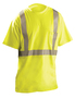 OccuNomix Medium Hi-Viz Yellow ANSI 107 100% Modacrylic/Polyester/Cotton T-Shirt