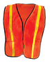 OccuNomix Hi-Viz Orange 100% Polyester Mesh Vest