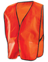 OccuNomix X-Large Hi-Viz Orange And Orange Economy/OccuLux®/Value™ Mesh Vest With Front Hook And Loop Closure