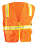 OccuNomix 4X Hi-Viz Orange 6 Ounce FR Treated Cotton Vest