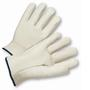 PIP® Medium Natural Select Grain Cowhide Unlined Drivers Gloves