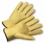 PIP® Medium Natural Select Grain Pigskin Unlined Drivers Gloves