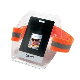 Ergodyne Orange Squids® 3386HV Vinyl ID Holder