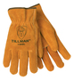 Tillman™ Medium Russet Economy Cowhide Unlined Drivers Gloves