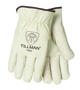 Tillman® Medium Pearl Standard Top Grain Cowhide Unlined Drivers Gloves