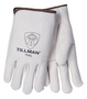 Tillman® Medium Pearl Heavy Duty Top Grain Cowhide Unlined Drivers Gloves With DuPont™ Kevlar® Stitching