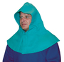 Tillman® Green Cotton FR-7A® Westex® Hood With Hook And Loop Closure
