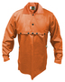 Tillman™ Medium Orange Cotton FR-7A® Westex® Cape Sleeve With Button Snap Closure