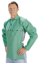 Tillman™ Medium Green Cotton Indura® Westex® Whipcord Cape Sleeve With Snap Fasteners Closure