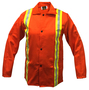 Tillman™ Size 3X Orange Cotton FR-7A® Westex® Jacket With Snap Front Closure