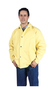 Tillman™ Size 3X Yellow Twill Kevlar® Westex® Jacket With Twill Lining And Snap Front Closure