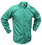 Tillman™ Size 3X Green Cotton FR-7A® Westex® Jacket With Snap Front Closure