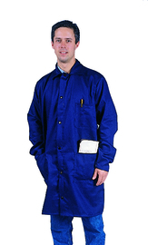 Tillman™ Size 3X Navy Blue Cotton FR-7A® Westex® Jacket With Snap Front Closure