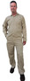 Tillman™ Size 2X Tan Cotton FR7A® Indura® Westex® Coveralls With Snap Front Closure