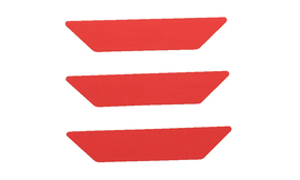 Bullard® Red/Orange Reflective Strip Decal