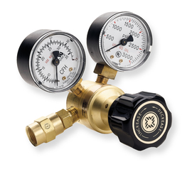 Western Model REB-4-FG Light Duty Carbon Dioxide Flowgauge Regulator, CGA-320