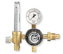 Western Medium Duty Nitrogen Single Stage Flowmeter Regulator CGA-580