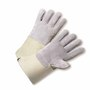 West Chester X-Large Premium Split Leather Palm Gloves With Leather Back And Rubberized Gauntlet Cuff