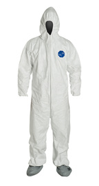 DuPont™ X-Large White Tyvek® 400 Disposable Coveralls