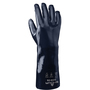 SHOWA® Size 9 Dark Blue Cotton Lined Neoprene Chemical Resistant Gloves