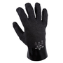 SHOWA® Size 10 Black Cotton Lined PVC Chemical Resistant Gloves
