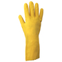 SHOWA® Size 9 Orange Cotton Flock Lined 21 mil Latex Chemical Resistant Gloves