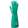 SHOWA® Size 10 Green 22 mil Nitrile Chemical Resistant Gloves