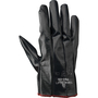 SHOWA® Size 7 13 Gauge Black Foam Nitrile Work Gloves With Seamless Knit Liner And Knit Wrist