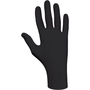 SHOWA™ Large Black N-DEX® 4 mil Latex Free Nitrile Powder-Free Disposable Gloves (50 Gloves Per Box)