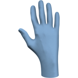 SHOWA™ X-Large Blue N-DEX® 8 mil Latex Free Nitrile Utility Grade Lightly Powdered Disposable Gloves (50 Gloves Per Box)