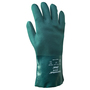 SHOWA® Size 9 Green Cotton Lined PVC Chemical Resistant Gloves