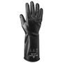 SHOWA® Size 7 Black 14 mil Butyl Chemical Resistant Gloves